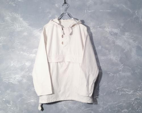 cotton anorak parka.写真