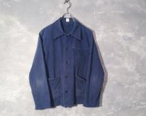 vintage HBT German work jacket.