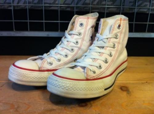 converse ALL STAR S HI (ライトピンク) USED写真