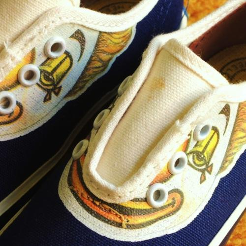 DEADSTOCK ! 1960's KEDSO by Keds CLOWN Canvas Shoes写真