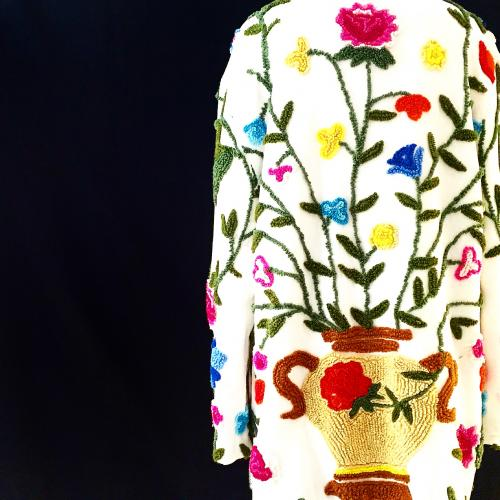 """ Special flower embroidery jacket "" for Women写真"