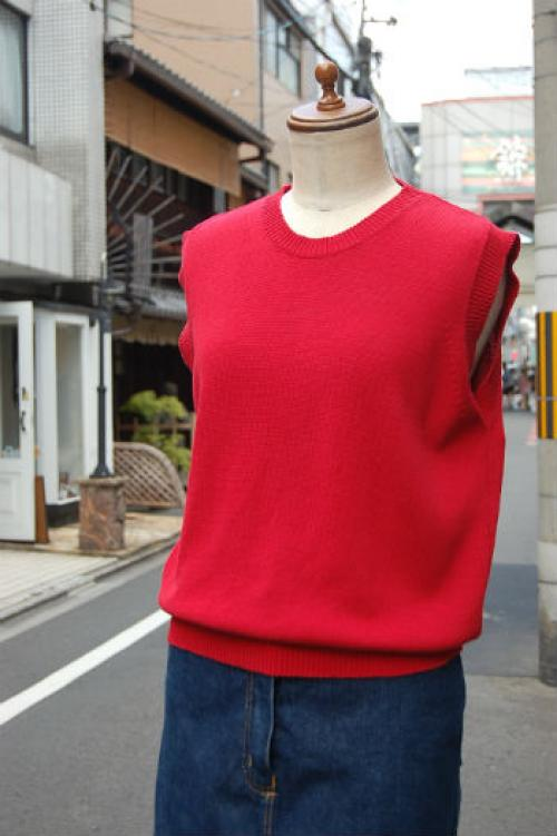 ITALY CLAN cotton knit tops写真