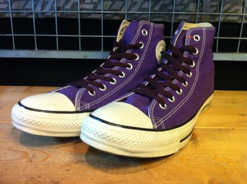 converse ALL STAR COLORS CLASSIC (パープル) USED写真
