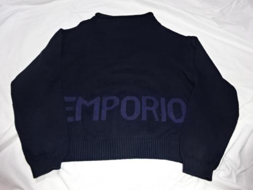 "Design Cotton Sweater ""EMPORIO ARMANI""写真"