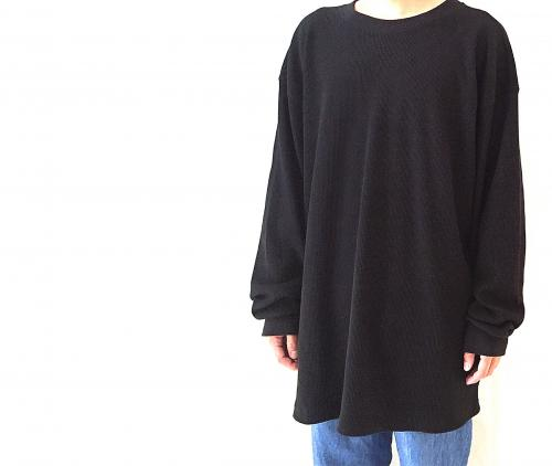 """ BIG SIZE "" black thermal L/S tee for Men! 写真"
