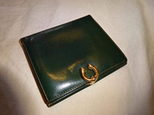 "Design Leather Wallet ""GUCCI""写真"