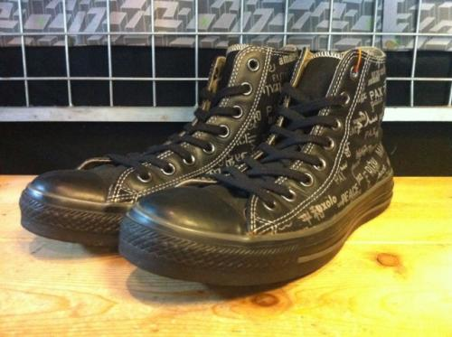 converse ALL STAR PC CANVS HI (ブラック/グレー) USED写真