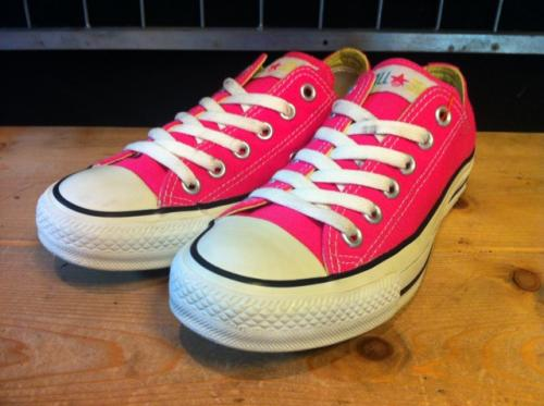 converse ALL STAR VVD OX (ピンク) USED写真