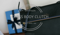 SMYTHSON(スマイソン) CROSS BODY CLUTCH