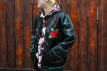 Supreme(シュプリーム)Quilted Satin Bomber入荷致しました!
