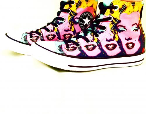 ‪Chuck Taylor All Star 【 Andy Warhol 】for Women!‬写真