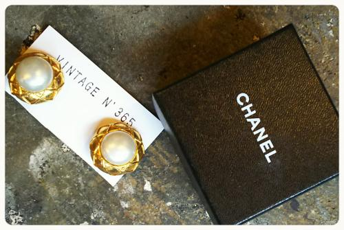 Vintage-CHANEL NEW-INです(^^♪写真