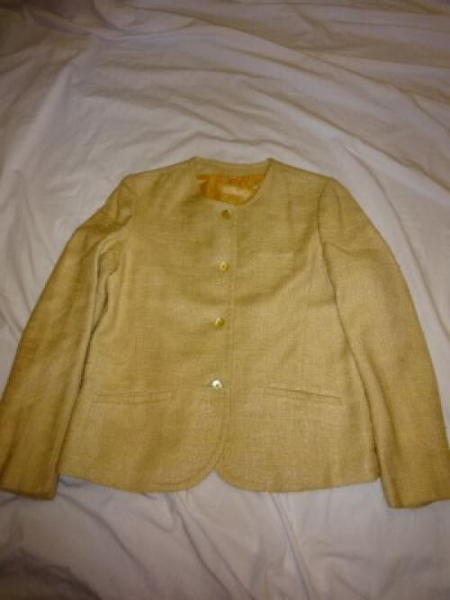 1960~70's Silk No-Collar Jacket写真