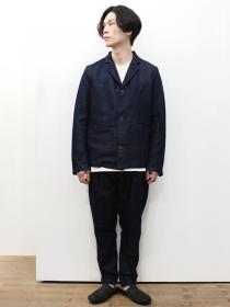 YANTOR Linen Denim Jacket