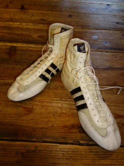 "1980's High-Cut Sneakers ""adidas""写真"