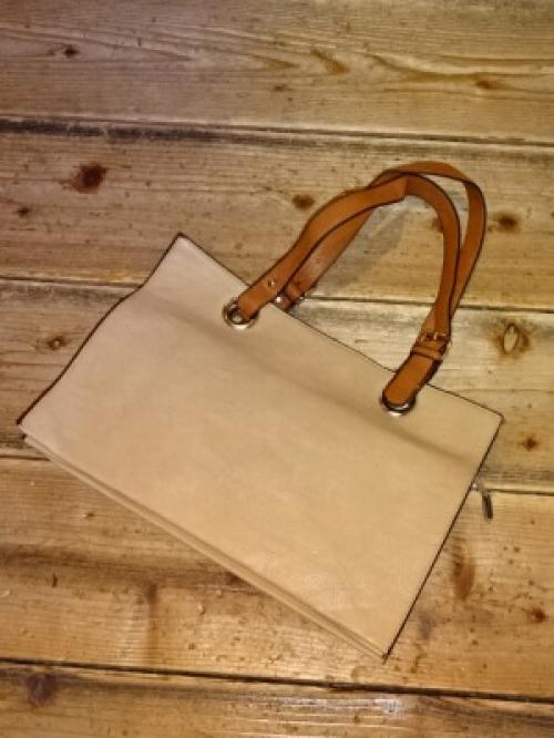 1970~80's Leather Tote Bag写真