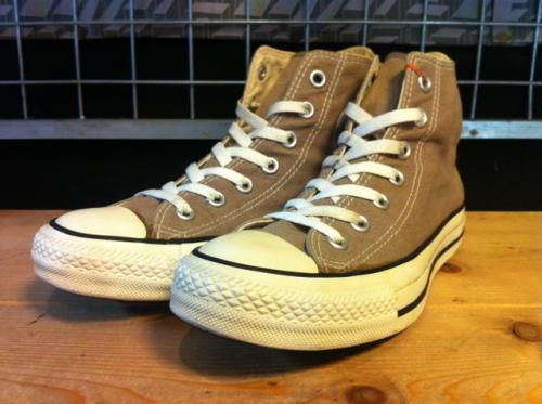 converse ALL STAR HI (トープ) USED写真