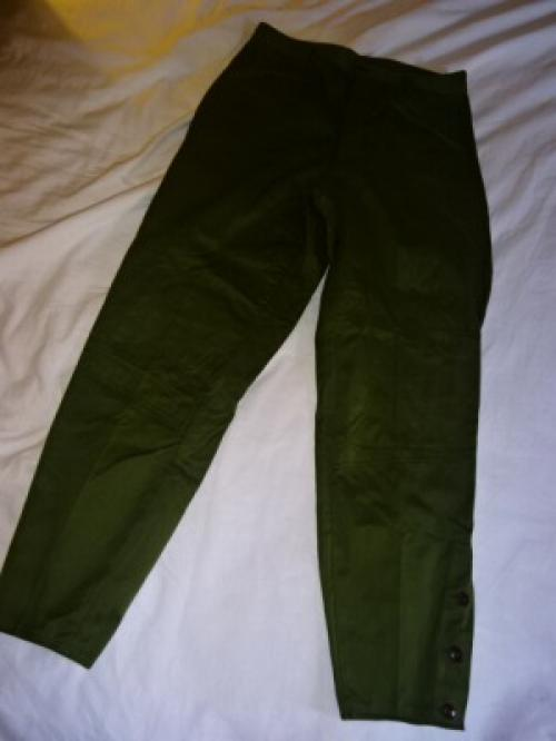 "1960's Japanese Military Pants ""Dead Stock""写真"