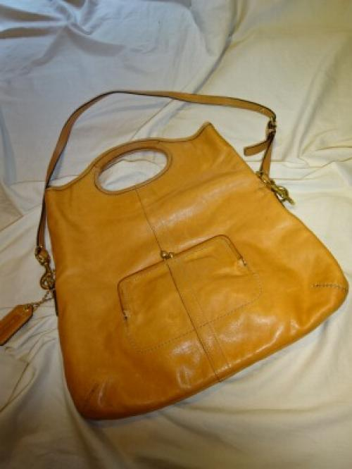 "Design 3WAY Leather Bag ""COACH""写真"