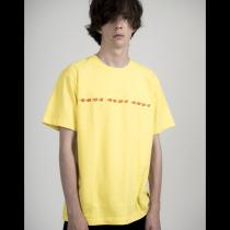 BNDX BOX LOGO TEE YELLOW / RPLC