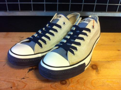 converse ALL STAR WATER COLOR OX (ネイビー) USED写真