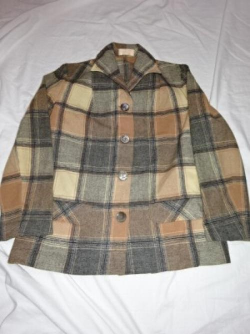 "1950~60's Wool Check Jacket ""PENDLETON""写真"