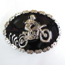 DEADSTOCK ! 1970~1980's motocross BELT-BUCKLE