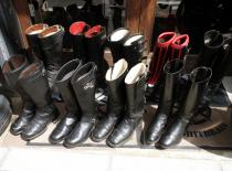 England Vintage Motorcycle Leather Boots