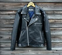 BARKBOX Black Leather Jacket Type-4