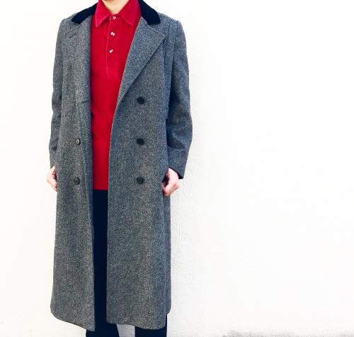 【 Double breasted Chesterfield coat 】写真