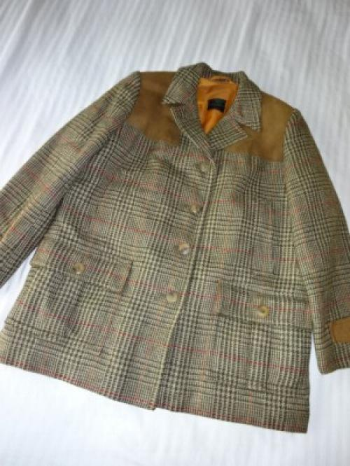 "1960's Tweed Short Coat ""Abercrombie & Fitch Made in England""写真"