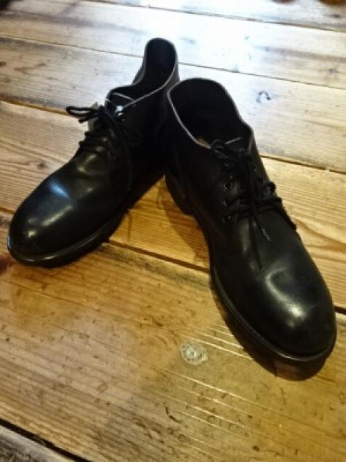 1980's Military Leather Chukka boots写真