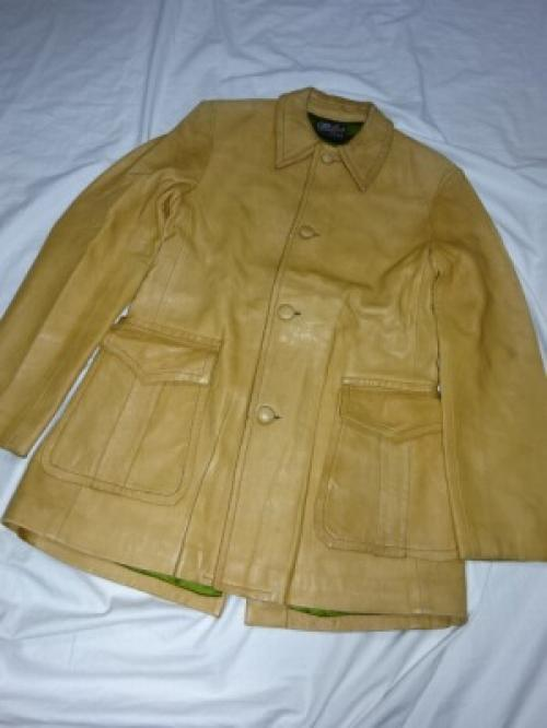 1940~50's Leather Single Coat写真