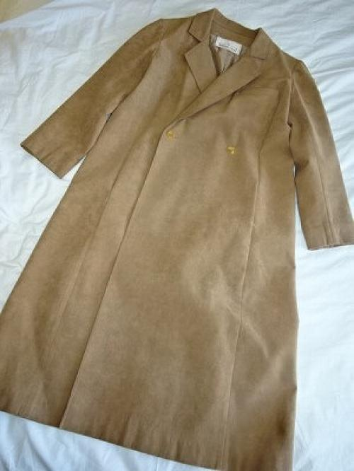1960's Micro Suede Chester Coat写真