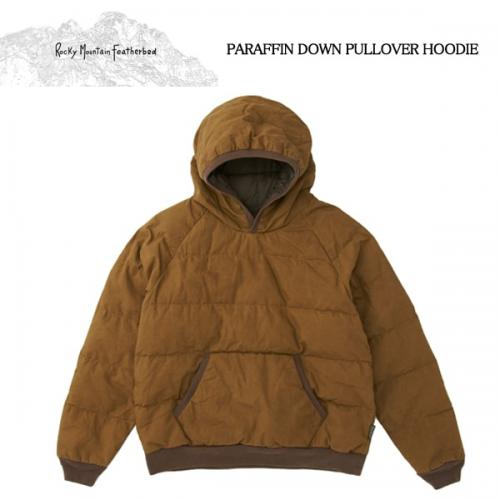 Rocky Mountain Featherbed/ロッキーマウンテン/PARAFFIN DOWN PULLOVER HOODIEがRin堀江店に再入荷!!写真