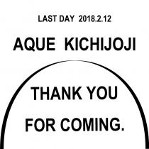 【アQ吉祥寺】Thank you SALE