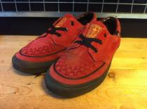 VANS CREEPERS OX (レッド) USED