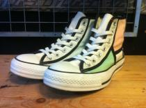 converse ALL STAR MODANIT HI (ホワイト/グリーン/グレー) USED