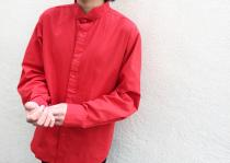 【 wing collar shirt 】