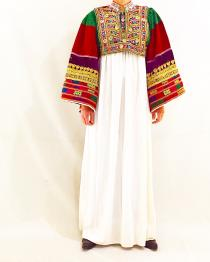 【 60's - 70's Afghanistan VINTAGE 】 beads embroidery tops