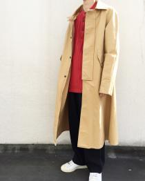 【 canvas design coat 】 recommend for Men.