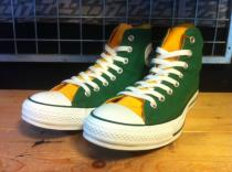 converse ALL STAR HI (グリーン/イエロー) USED