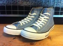 converse ALL STAR CHAMBRAY HI (サックス) USED