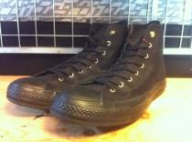 converse ALL STAR G-STUDS HI (ブラック) USED