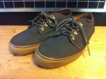 VANS CHUKKA LOW (ダークネイビー) USED