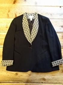 1980's Shawl Collar Design Spring Jacket