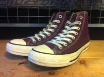 converse ALL STAR HI (ディープパープル) USED