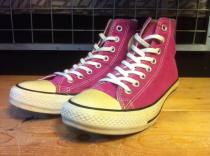 converse ALL STAR COLORS CLASSIC HI (ラズベリーピンク) USED