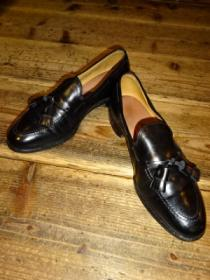 Leather Tussel Loafers