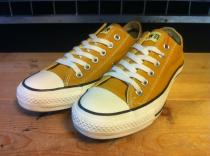 converse ALL STAR WASHOUT OX (マスタード) USED
